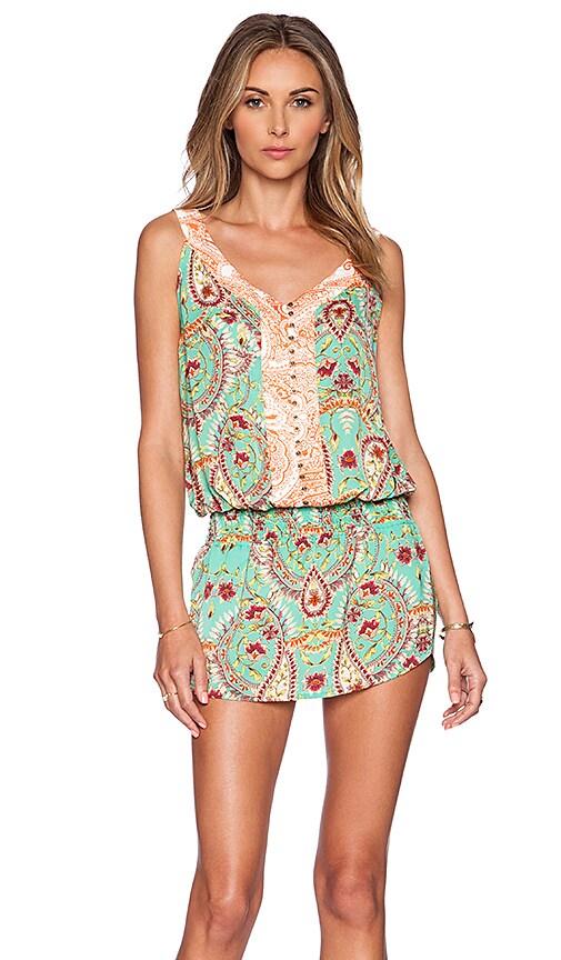 Vix Swimwear Low Waist Mini Dress in Provence