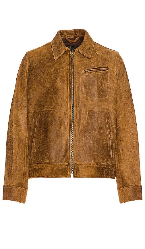 Duke Unlined Rough Suede Jacket