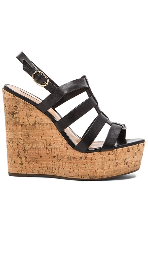 Schutz Egenia Wedge in Black