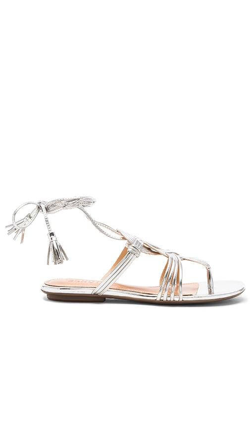 Schutz Eminiana Sandal in Prata