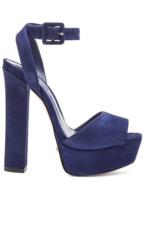 Schutz Amatista Heel in Dress Blue