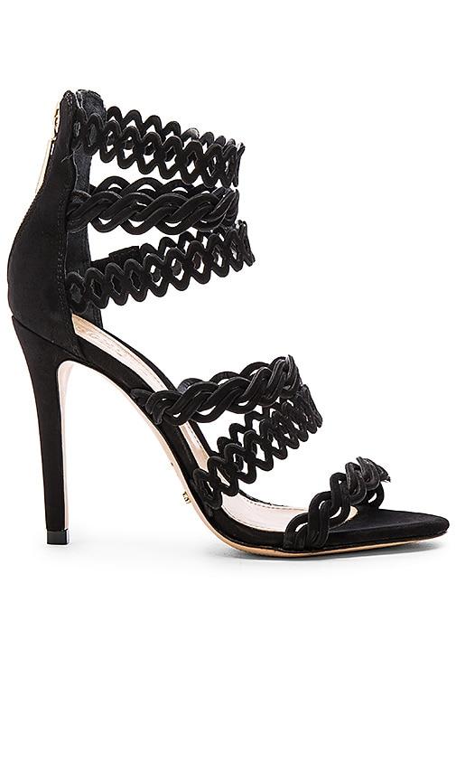 Schutz Leonora Heel in Black