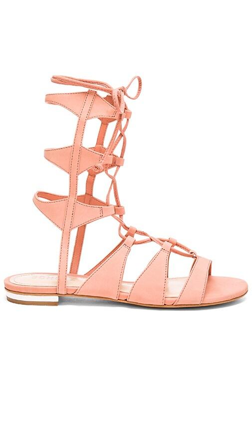 Schutz Erlina Sandal in Peach