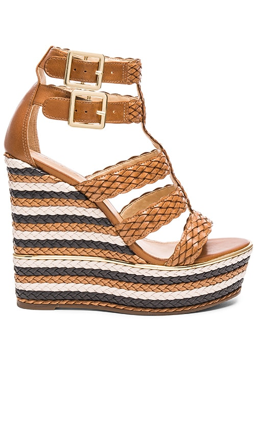 Schutz Kaelyn Wedge in Bamboo