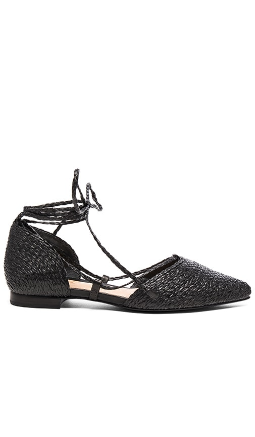 Schutz Nifertite Ballet Flat in Black