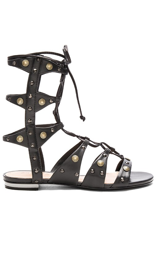 Schutz Samena Sandal in Black