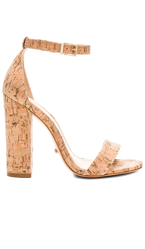 Schutz Enida Heel in Natural