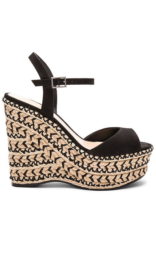 Schutz Veridiane Wedge in Black