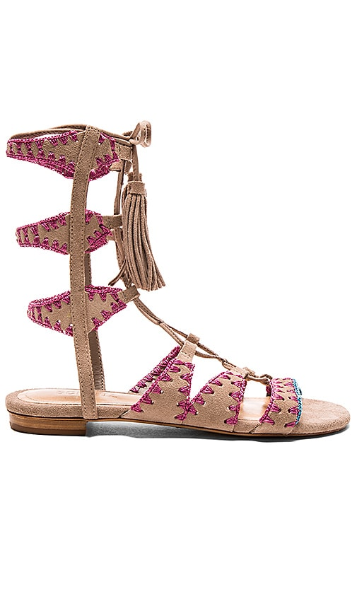 Schutz Willow Sandal in Taupe