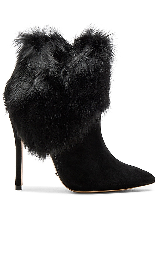 Henrietta Rabbit Fur Bootie
