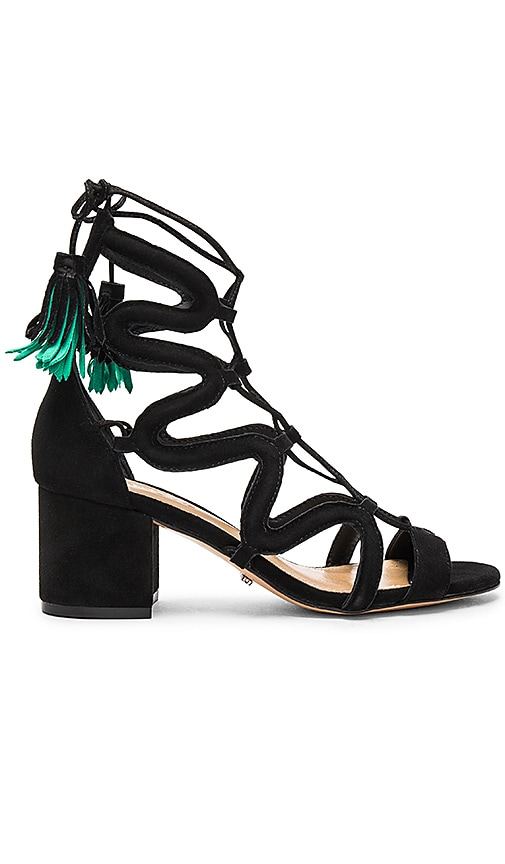Schutz Ryder Sandal in Black