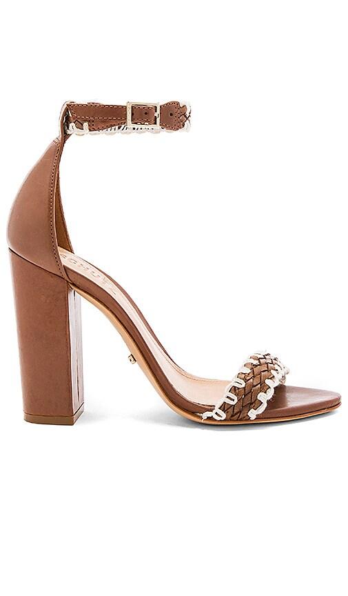 Schutz Floriza Heel in Brown