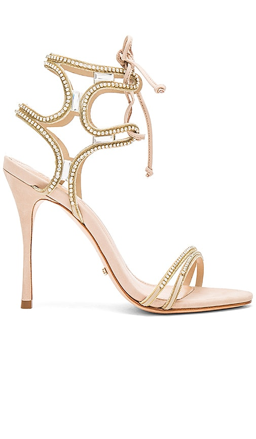 Schutz Cristen Heel in Metallic Gold