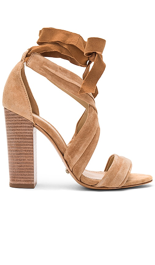 Schutz Dream Heel in Tan