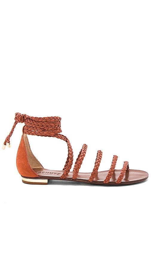 Schutz Victore Sandal in Rust