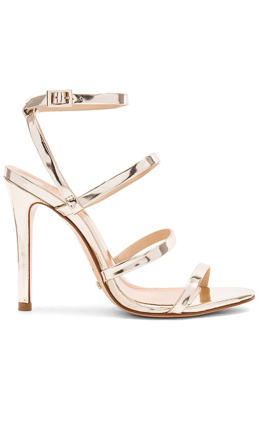 Schutz Ilara Heel in Metallic Gold