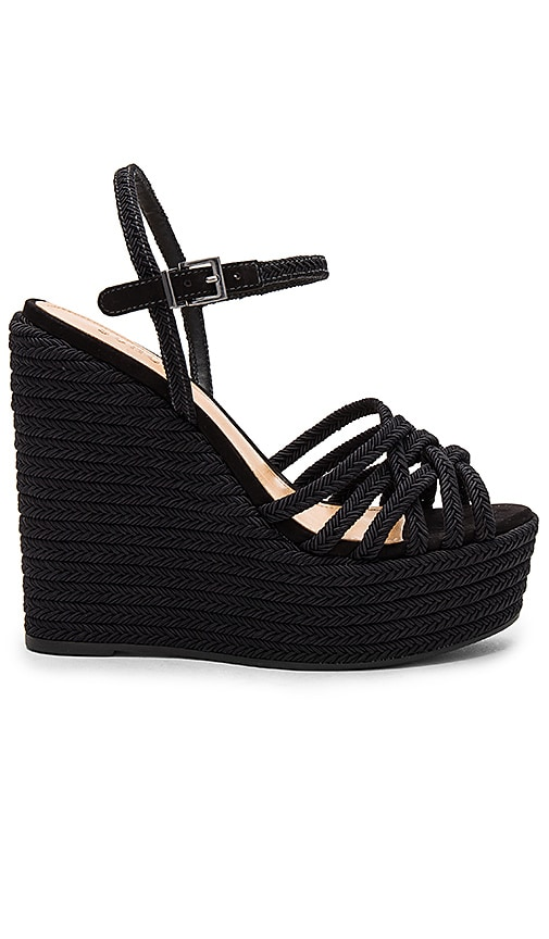 Schutz Leandrea Wedge in Black