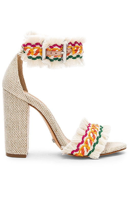 Schutz Zoola Heel in Multi & Natural | REVOLVE