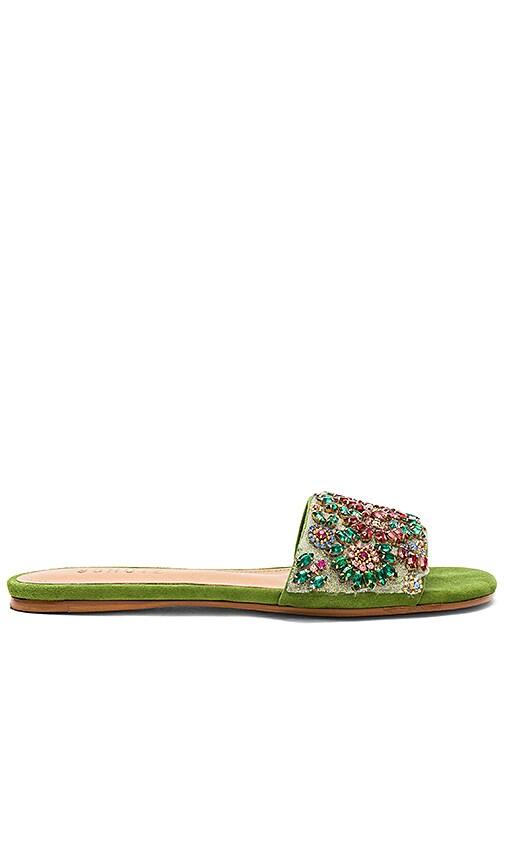 Schutz Makbule Sandal in Green