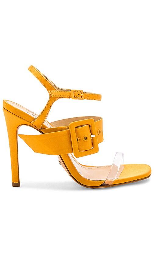 Schutz Prunella Heel in Yellow