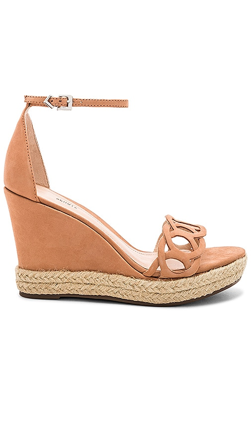 Schutz Keira Wedge in Tan