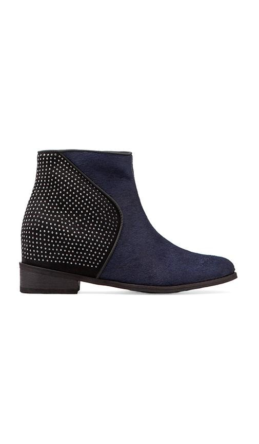 Chelsea-Louise Bootie with Calf Fur