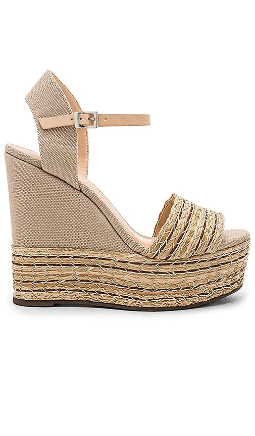 Gina Wedge in Beige. - size 8 (also in 10,5.5,6,6.5,7,7.5,8.5,9,9.5) Raye