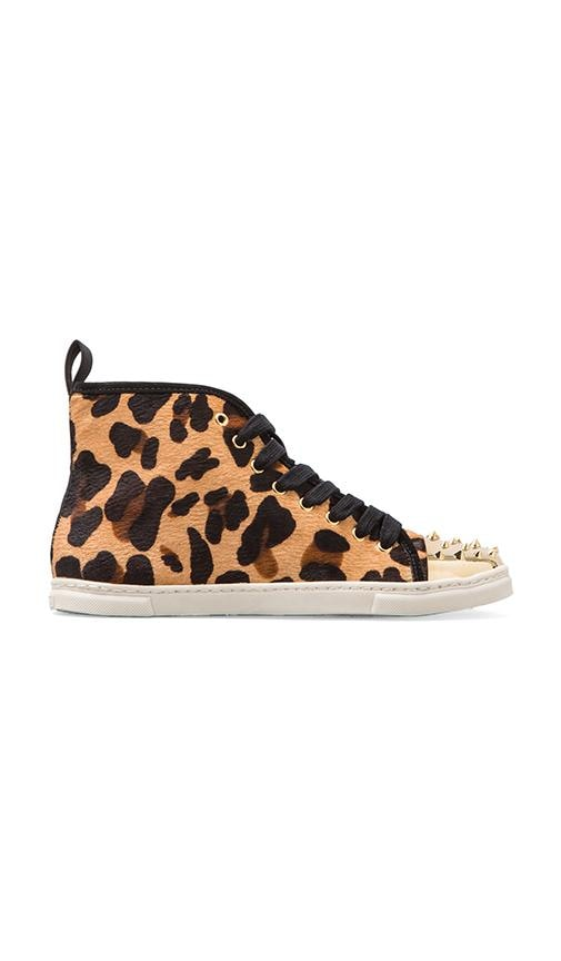 Aima Sneaker with Calf Fur