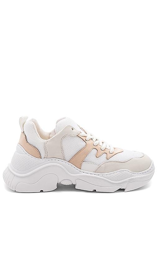 Schutz Jackye Sneaker in Pearl
