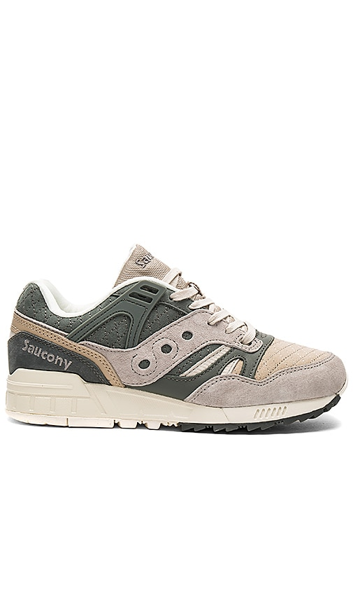 Saucony Grid SD Quilted in Charcoal