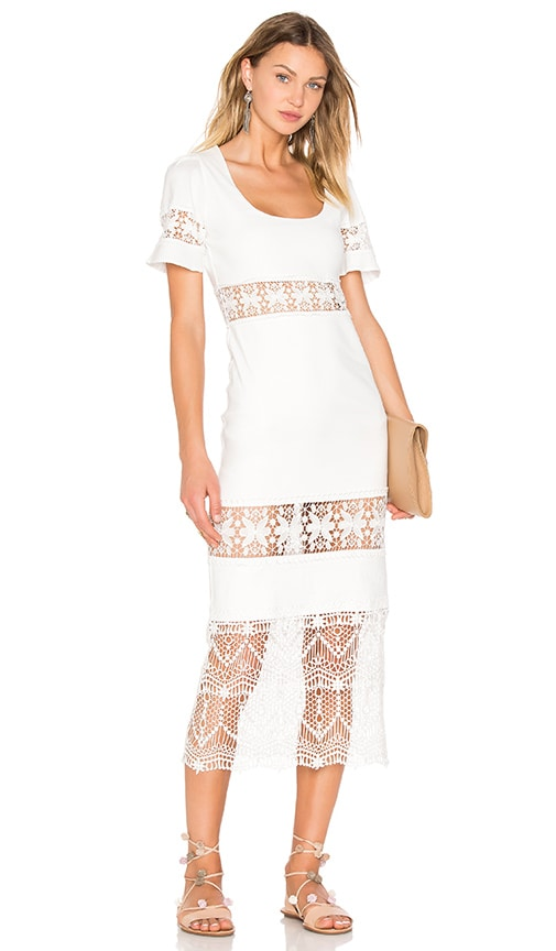 a76d92b069f STONE COLD FOX Dryden Dress in White