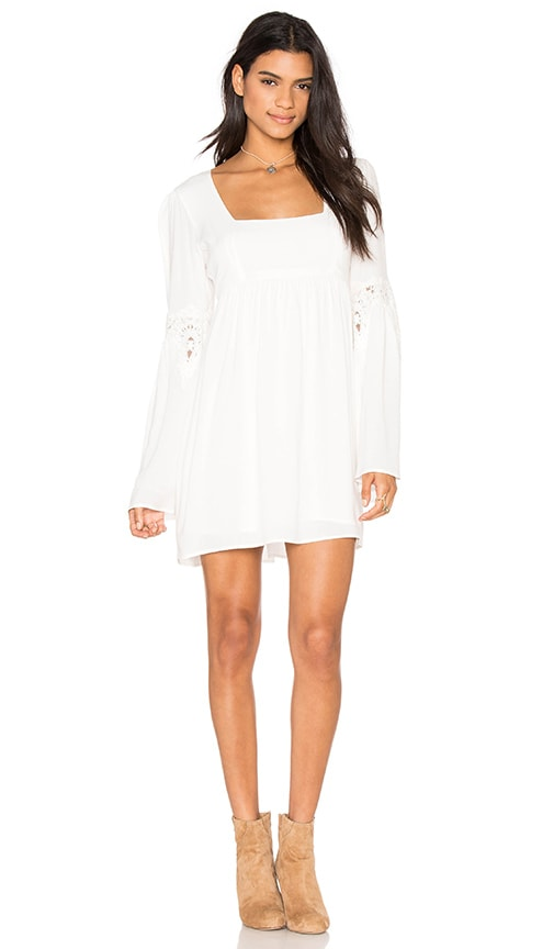 STONE_COLD_FOX Florentine Dress in White