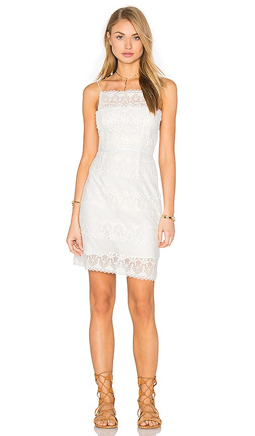 STONE_COLD_FOX Chorus Dress in White