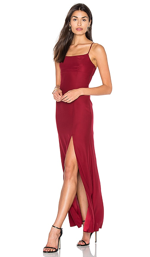 STONE_COLD_FOX Christy Gown in Red