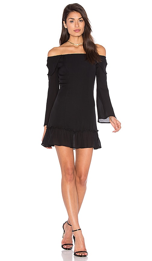 STONE COLD FOX Elsa Dress, Black