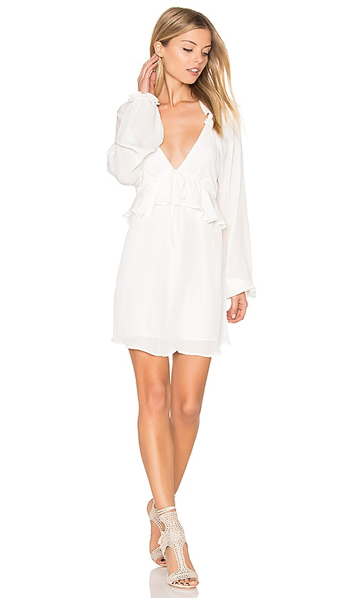 STONE_COLD_FOX Jay Dress in White