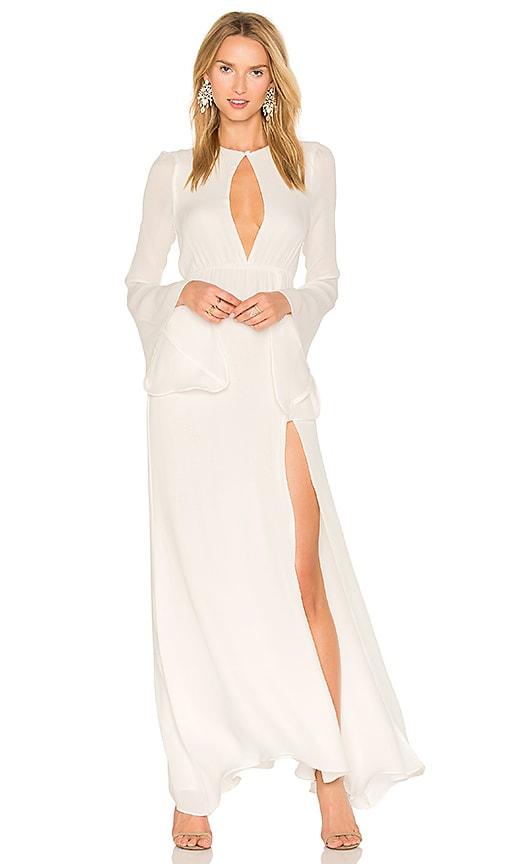 07dc9bb86 STONE_COLD_FOX Azzurra Gown in White | REVOLVE