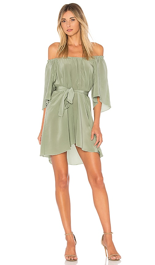 STONE_COLD_FOX x REVOLVE Shadmoor Dress in Green