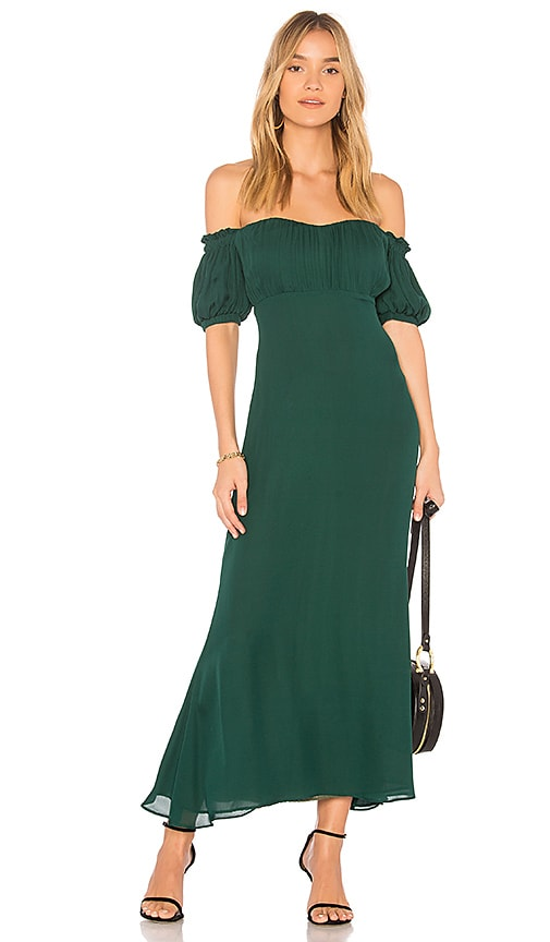 STONE_COLD_FOX Dean Dress in Green
