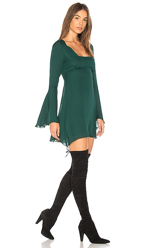 STONE_COLD_FOX Fisher Dress in Green