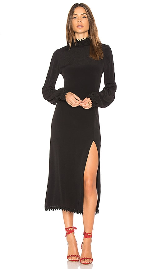 STONE_COLD_FOX Hemingway Dress in Black