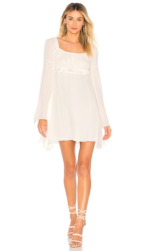 STONE_COLD_FOX Vine Dress in White