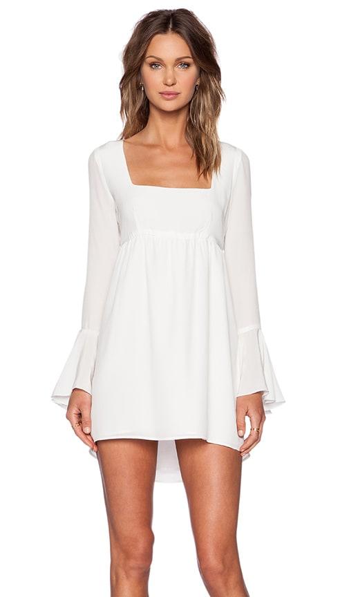 STONE_COLD_FOX Farrah Dress in White