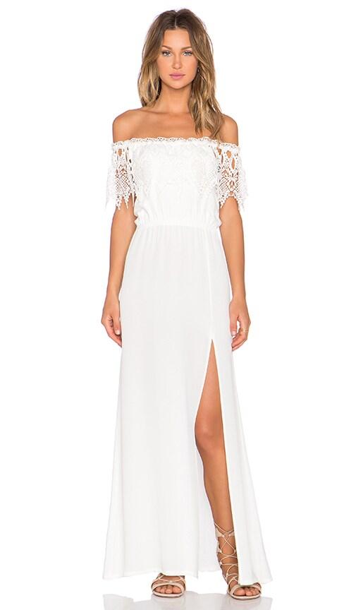 STONE_COLD_FOX Rupp Maxi Dress in White