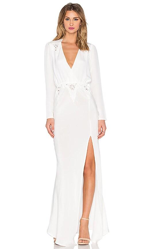 STONE_COLD_FOX x REVOLVE Birkin Gown in White | REVOLVE