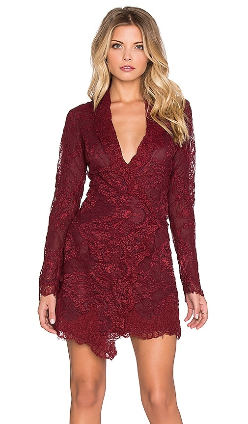 STONE_COLD_FOX Fillmore Dress in Blood Red