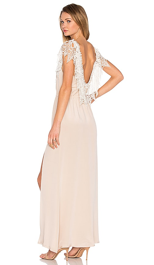 STONE_COLD_FOX Penelope Gown in Nude | REVOLVE