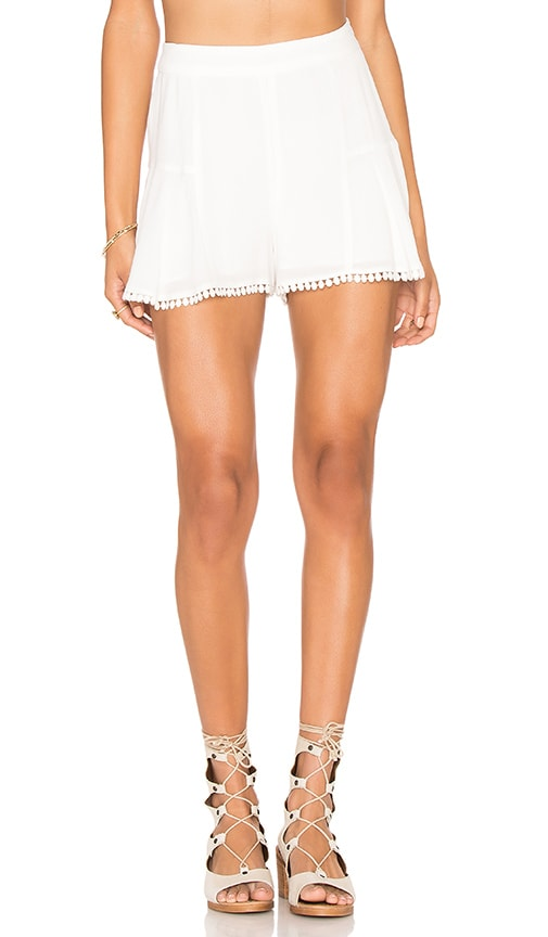 STONE_COLD_FOX Haight Short in White