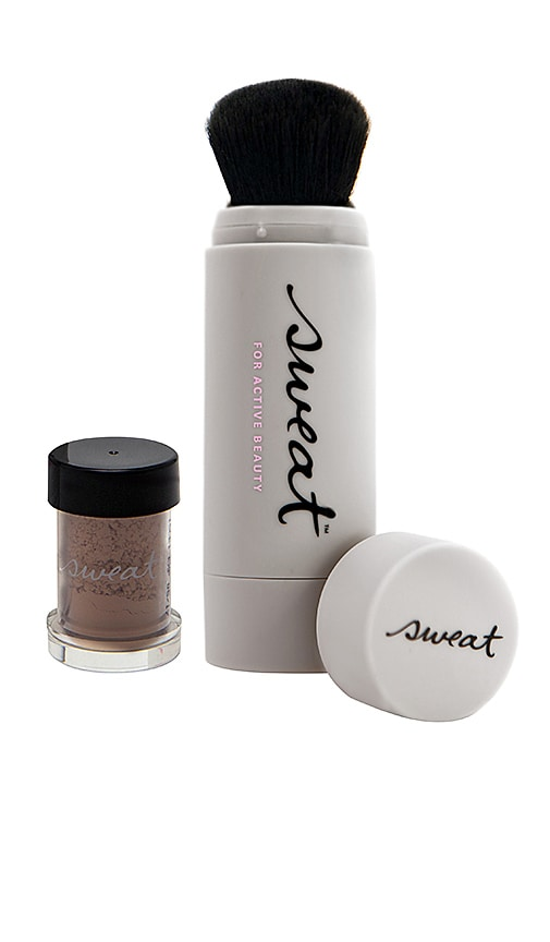 SWEAT COSMETICS Mineral Foundation Spf 30 Twist-Brush in Beauty: Na