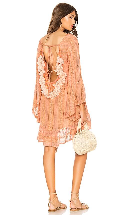 Sundress Indiana Basic Dress in Peach